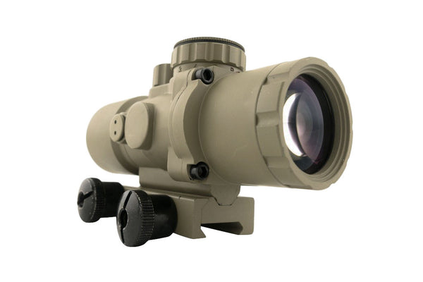 S232P 2x32 Compact Prism Scope - Flat Dark Earth - Rifle Scopes - Monstrum Tactical - 4