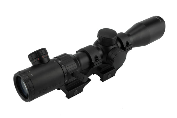3-9x32 Rifle Scope - Rangefinder Reticle and Offset Reversible Scope Rings - Rifle Scopes - Monstrum Tactical - 4