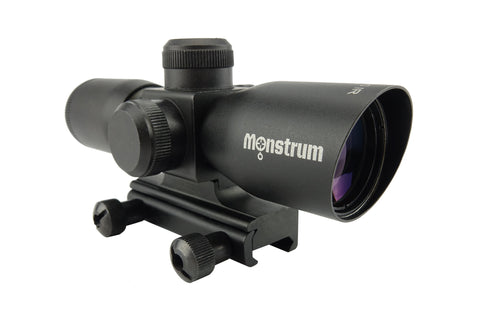 4x30 Compact Tactical Rifle Scope - Mil-Dot Reticle