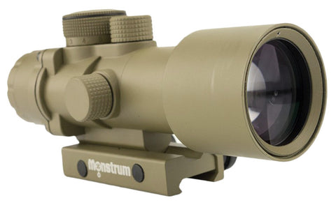 S536P 5x36 Compact Prism Scope - Flat Dark Earth - Rifle Scopes - Monstrum Tactical - 1