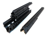 Saiga 12/20 Gauge Shotgun Quad Rail - Black - Quad Rails - Monstrum Tactical - 2
