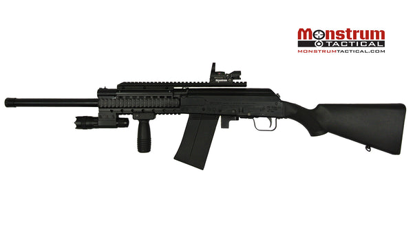 Saiga 12 20 Gauge Shotgun Quad Rail Black Monstrum