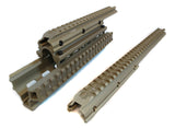 Saiga 12/20 Gauge Shotgun Quad Rail - Flat Dark Earth - Quad Rails - Monstrum Tactical - 2