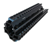 Saiga 7.62/5.45/.223 Rifle Quad Rail - Black - Quad Rails - Monstrum Tactical - 1