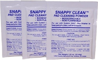 Snappy Clean Pad Cleaning Powder (1.25 Ounce -3 Pack)