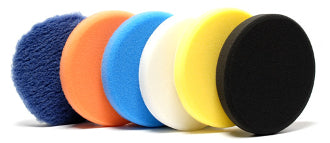 "4"" Lake Country White Polishing Pad"