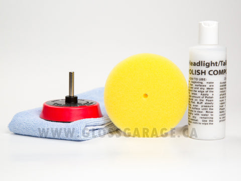 SM Arnold Headlight/Taillight Polishing Kit