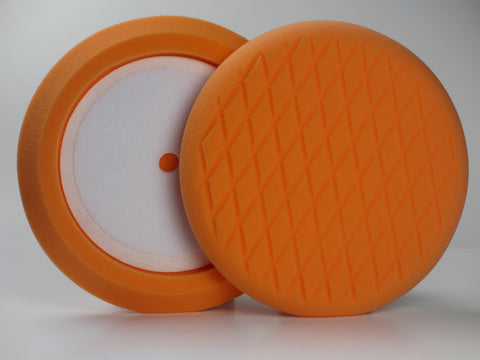 5 Inch Orange Light Cutting Foam Buffing Pad