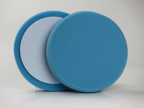Gloss Garage 6 Inch Blue Medium Cutting Foam Buffing Pad