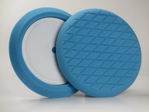 "9"" Inch, Blue Medium Cutting Foam Buffing Pad"