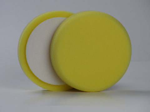 5 Inch Yellow Foam Heavy Cutting Foam Buffing Pad