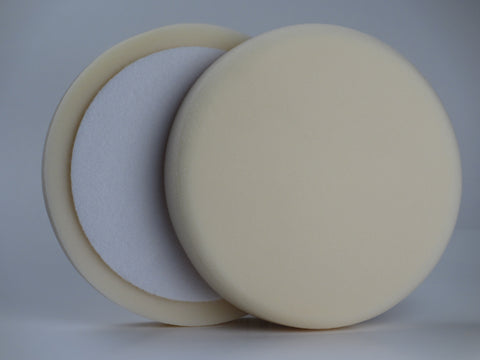 7 Inch White Foam Polishing Pad