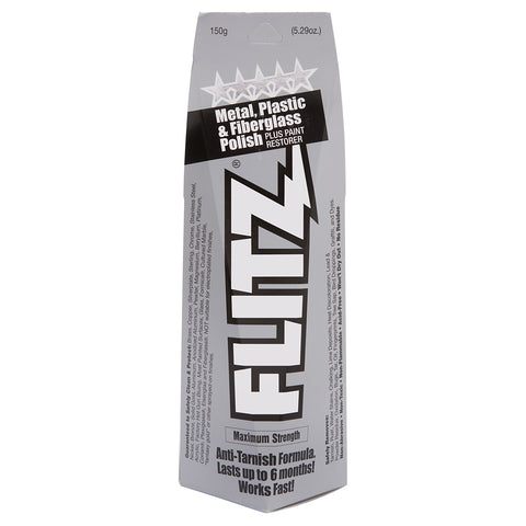 FLITZ  Metal. Plastic & Fiberglass Polish - Paste (150grams)