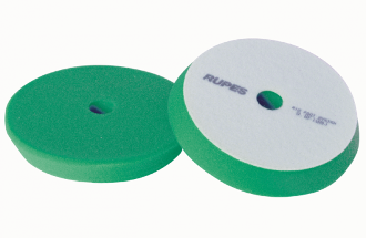 "RUPES Medium  Green Foam Polishing Pad  (80 / 100mm - 3""/ 4"" In)"