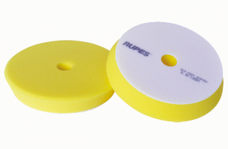"RUPES Fine Yellow Foam Polishing Pad  (80 / 100mm - 3"" / 4"" In)"