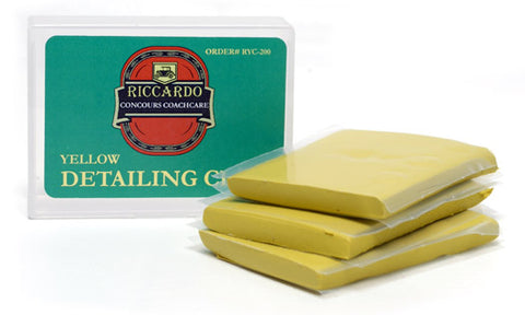 Riccardo YELLOW Detailing Clay Bar (8 oz)