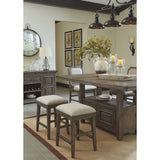 Wyndahl Counter Table - Rustic Brown