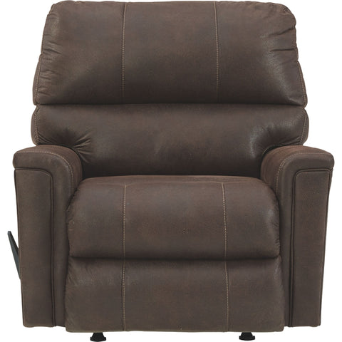 Navi Rocker Recliner - Chestnut