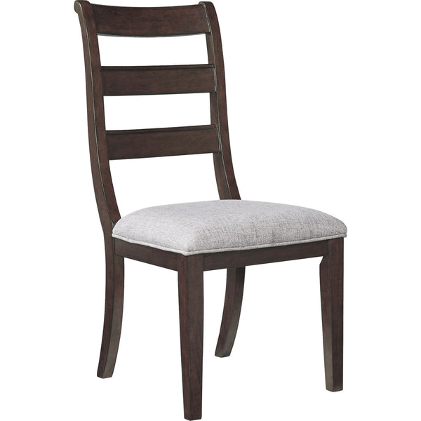 Hilmoore Side Chair - Reddish Brown