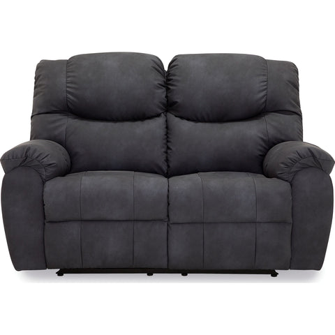 Whitehorse Power Reclining Loveseat - Charcoal