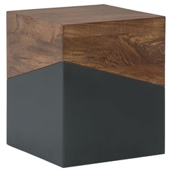 Trailbend Occassional Tables - Brown/Gunmetal