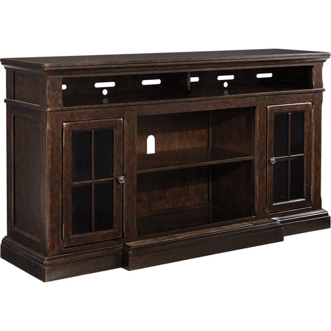 Roddinton Large TV Stand - Dark Brown