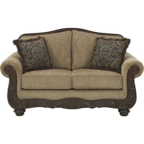 Briaroaks Loveseat - Mocha