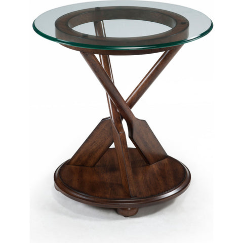 Beaufort End Table - Dark Oak