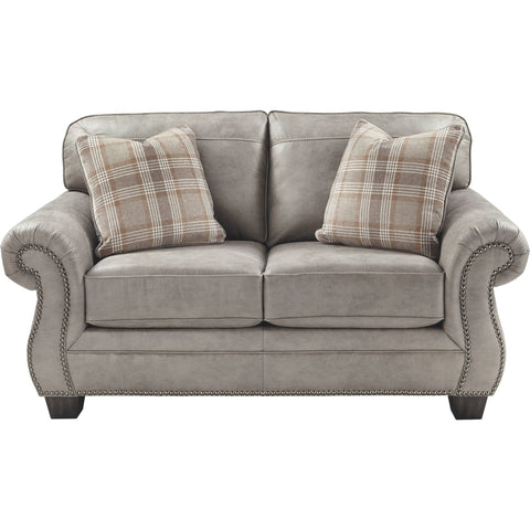 Olsberg Loveseat - Steel