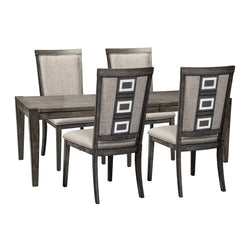 Chadoni 5 Piece Formal Dining - Smokey