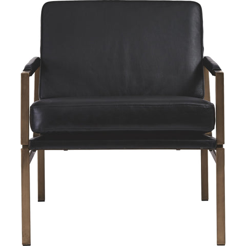 Puckman Accent Chair - Black