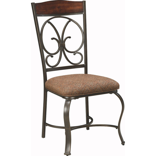 Thorton Side Chair - Brown/Beige