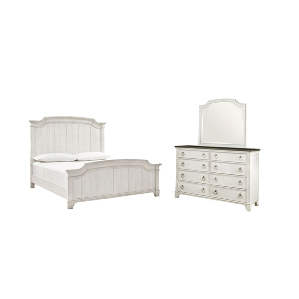 Nashbryn 5 Piece Bedroom Package - Whitewash