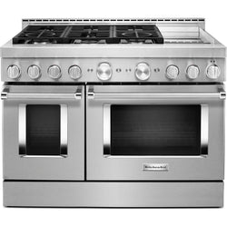 KitchenAid Gas Range - Stainless Steel