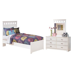 5 Piece Twin Bedroom - White