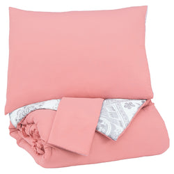 Avaleigh Full Comforter Set - Pink