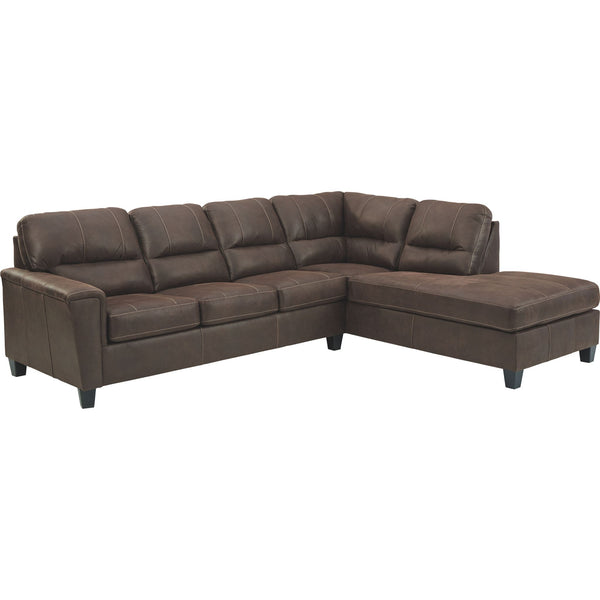 McCammon 2 Piece Sectional - Chestnut