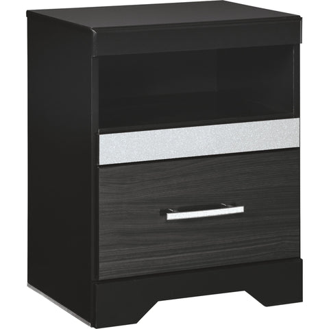 Drake Nightstand - Black