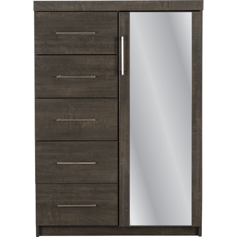 Morgan Armoire - Anthracite