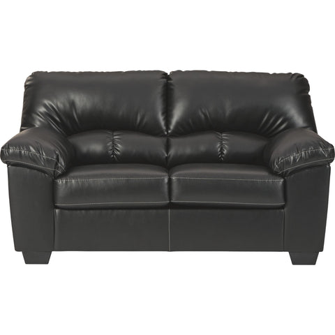 Brazoria  Loveseat - Black