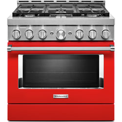 KitchenAid Gas Range - Red