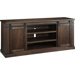 Budmore  Extra Large TV Stand - Rustic Brown