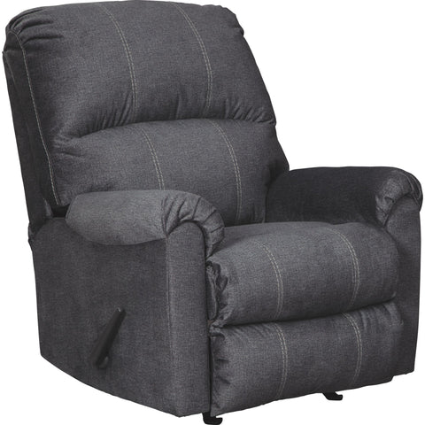 Kitchings Rocker Recliner - Charcoal
