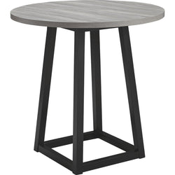 Naples Counter Table - Gray/Black