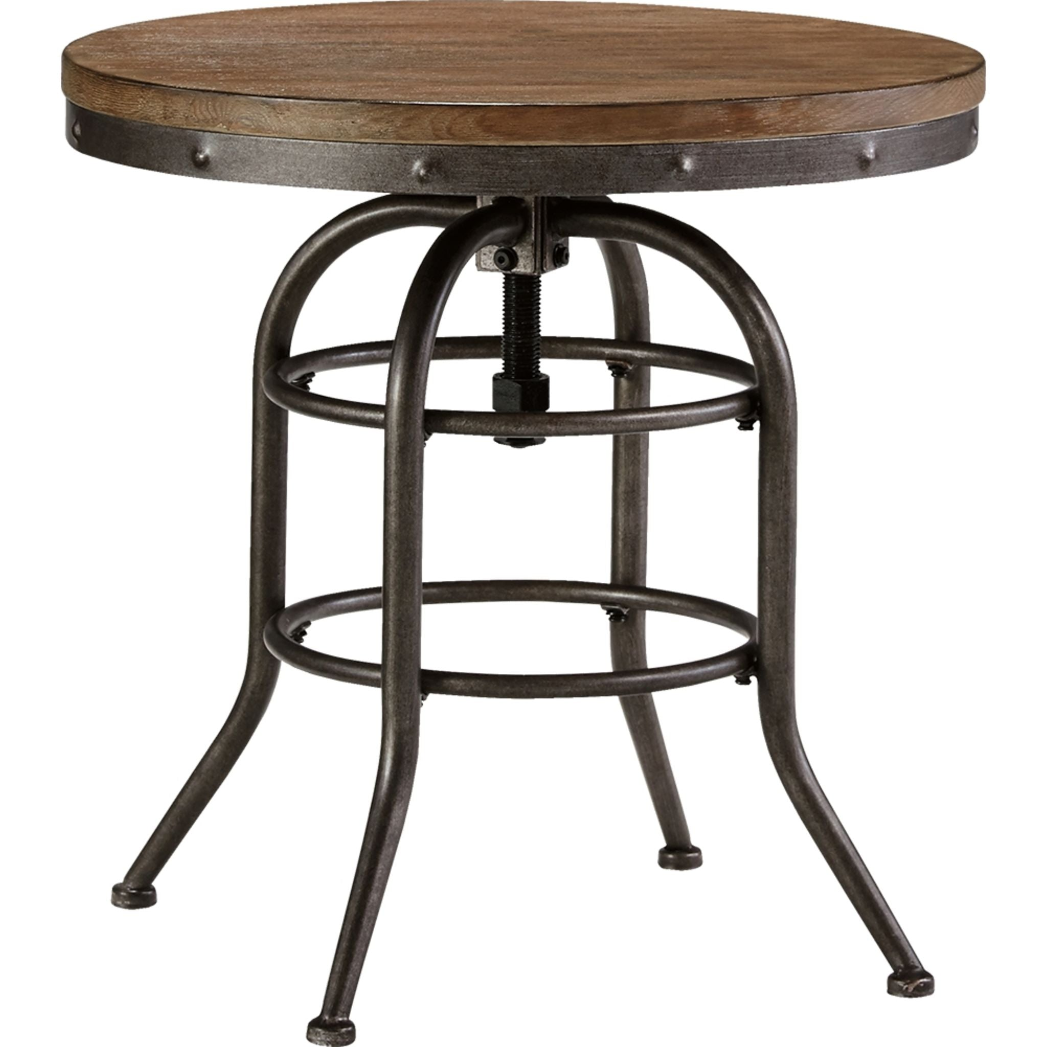 Vennilux End Table - Grey Brown