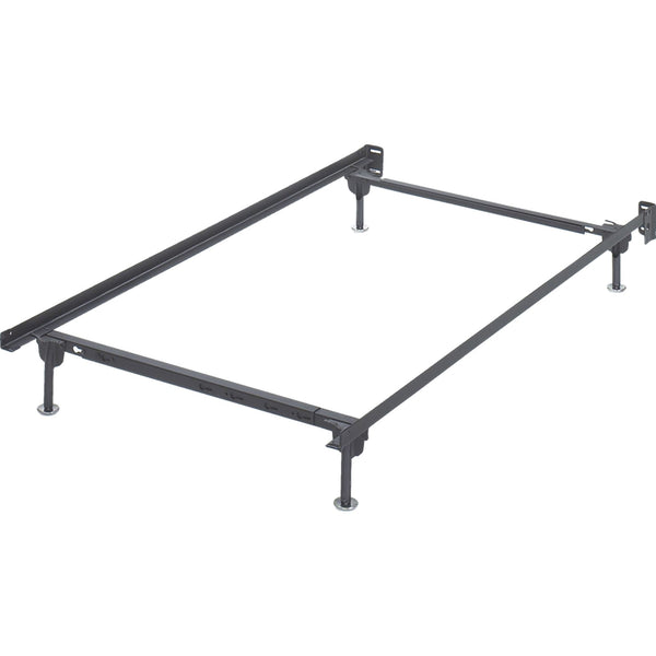 Day Bed Platform / Bed Frames / Bed Rails Twin/Full Bolt on Bed Frame - Metallic
