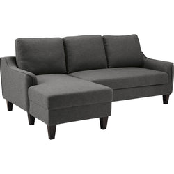 Regeena Queen Chaise Sofa Bed - Gray
