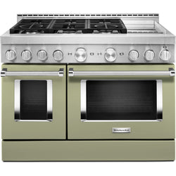 KitchenAid Gas Range - Avocado