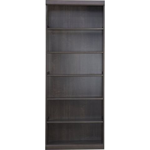 Worksite 76 Bookcase - Charcoal