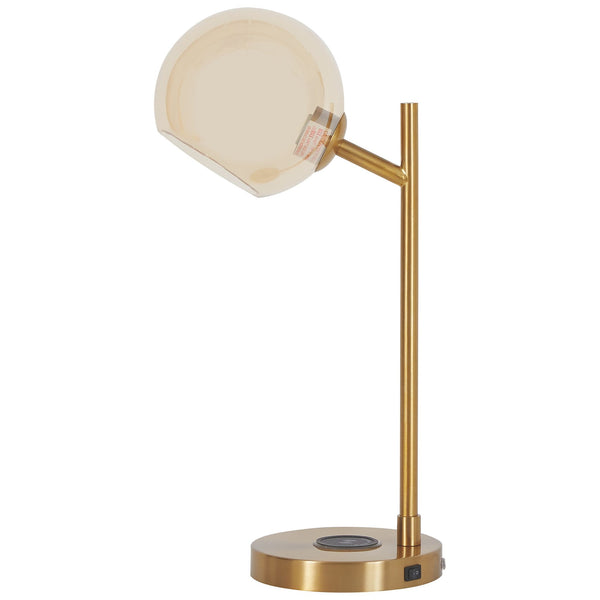 Abanson Table Lamp - Amber